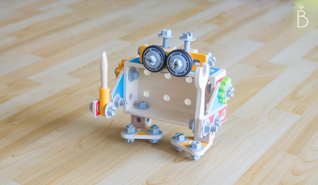 小豆苗精選玩具 | 德國HAPE多變化的木質工匠組
