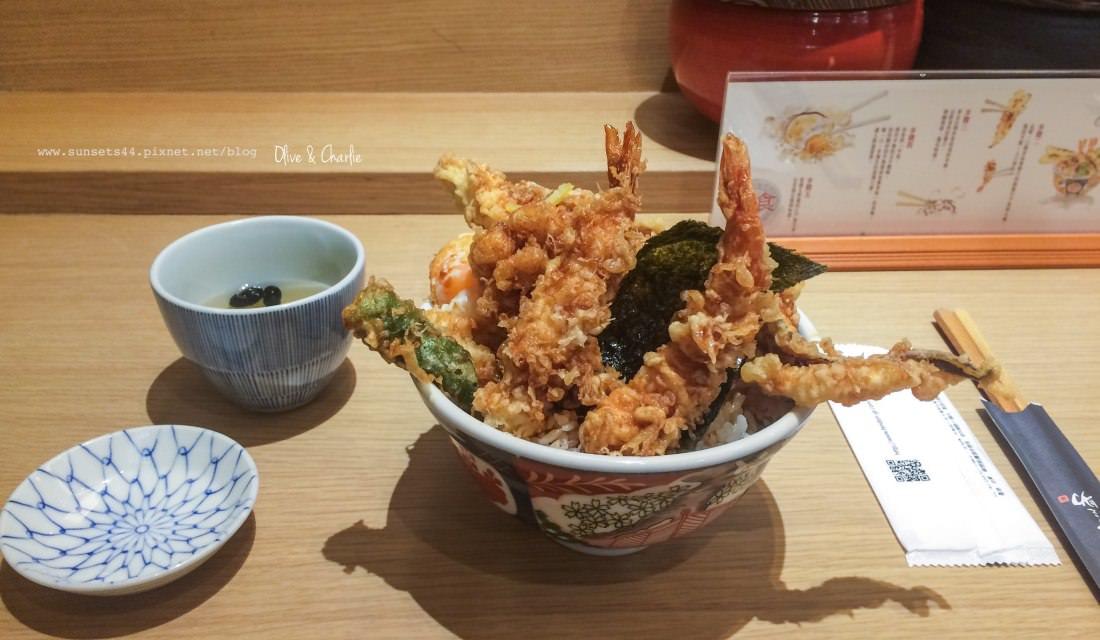 台北車站 金子半之助 | 日本來台人氣美食 麻油香噴噴的天丼