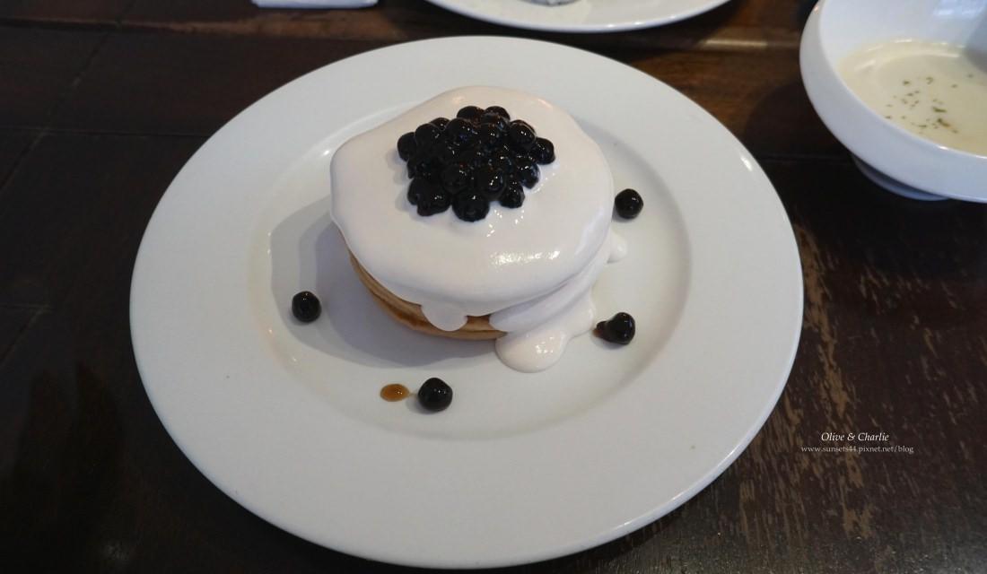 台北東區 美好年代Belle Epoque | 超特別的珍奶鬆餅& OREO鬆餅塔