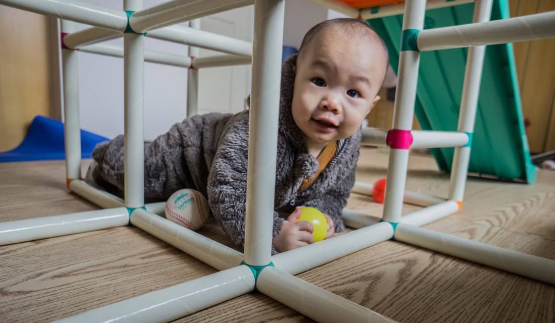 日本People攀爬架滑梯組 | 體操選手從小栽培