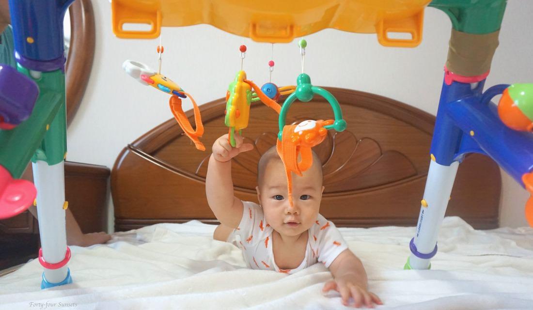 美國購物 | 六個月前小寶寶的玩具推薦(Lamaze螢火蟲、圍欄、布書,樂雅健力架,Zoobies玩偶毯)