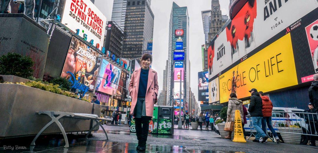 踏出第一步,才發現自己其實有很多夢想 | 零下20度的紐約