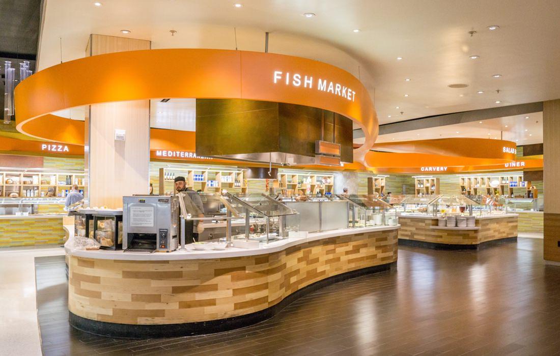 拉斯維加斯 ARIA The Buffet | 讓人回不去的浮誇自助餐!滿坑滿谷的海鮮和甜點