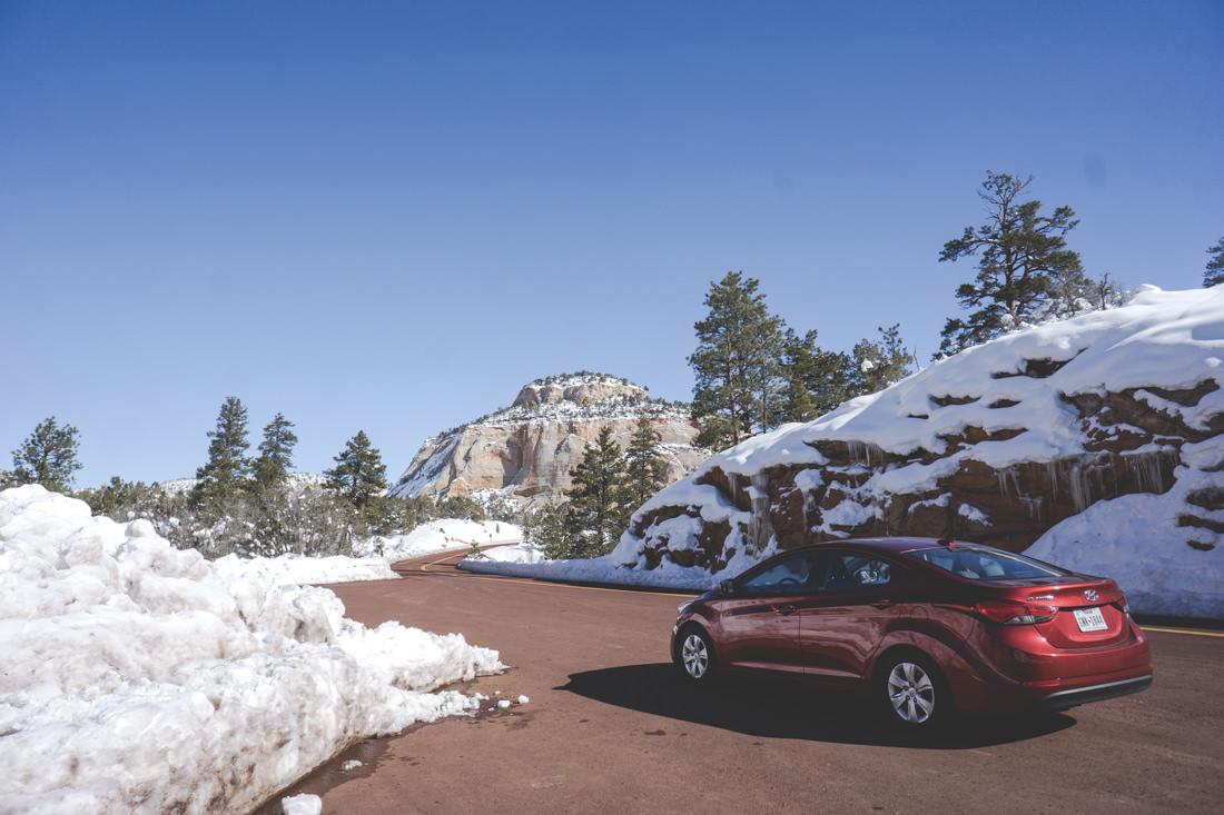 美國中部 | 二月雪季的大峽谷受困驚魂記