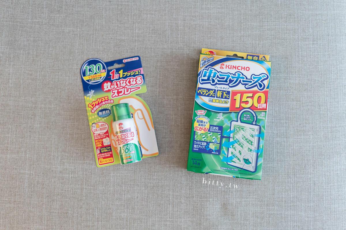 日本金鳥KINCHO 防蚊噴霧與防蚊掛片