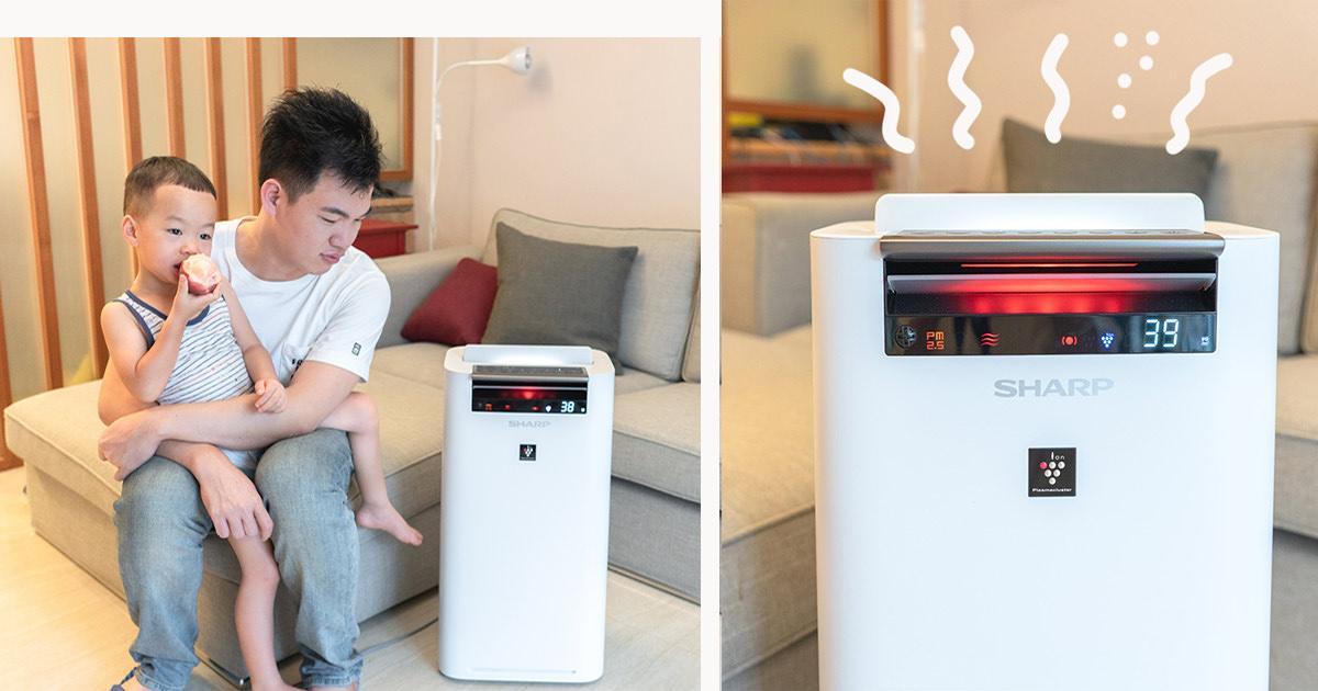 蓋瑞實驗室 | SHARP空氣清淨機
