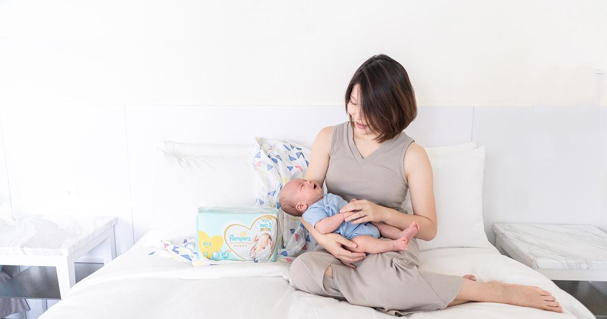 謝謝孩子,給我們第二次機會成為更好的爸媽 | 幫寶適一級幫 日本境內版超透氣尿布