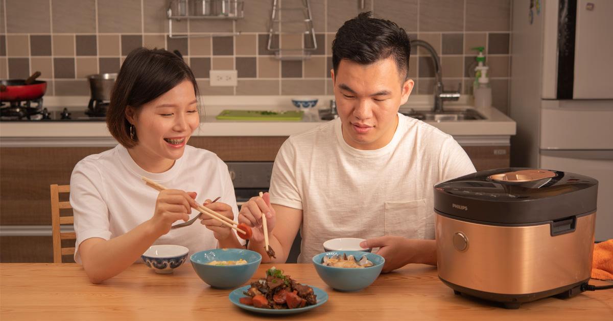 小朋友挑食?!如何幫孩子均衡補充營養,職場爸媽還可以迅速上菜 x Philips HD2195 雙重脈衝智慧萬用鍋