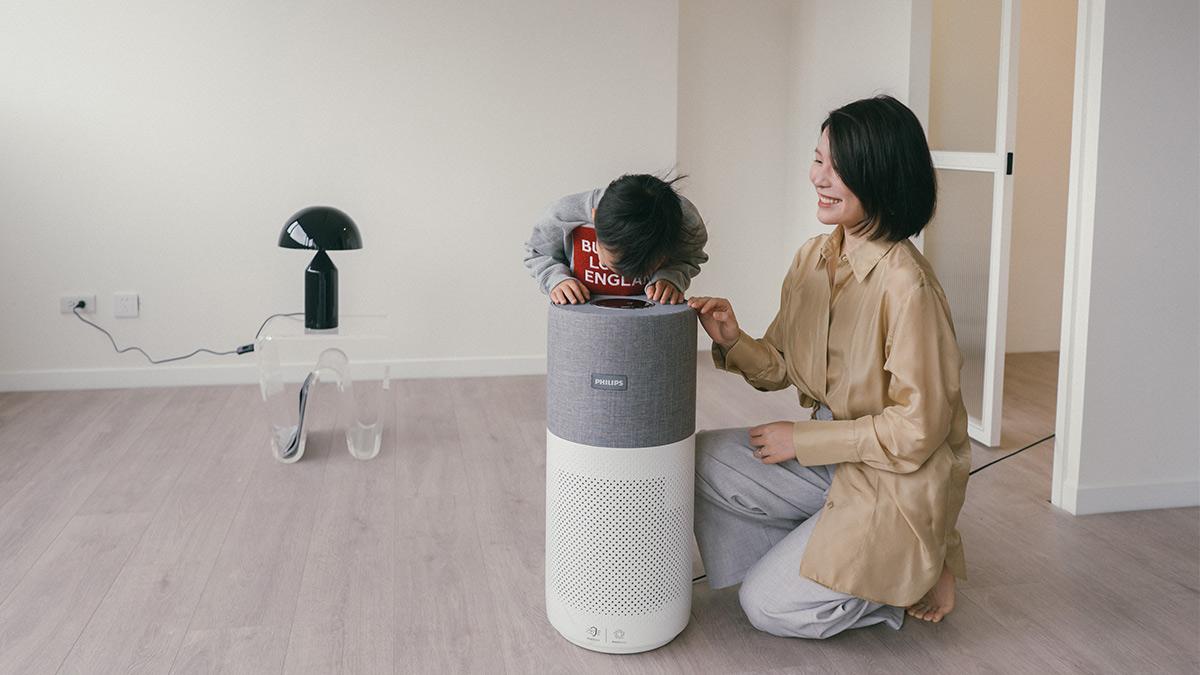 飛利浦奈米級空氣清淨機 | 家裡有顏值又有用的好夥伴